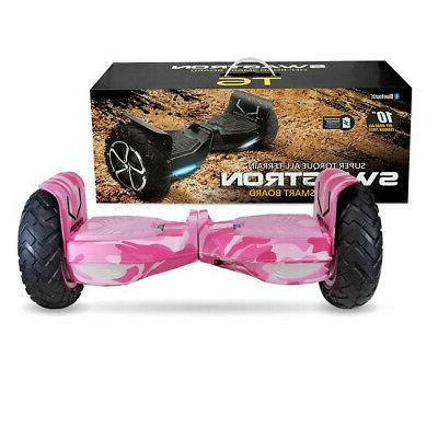 SWAGTRON Off-Road Motorized Electric Hoverboard