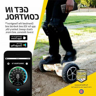 SWAGTRON T6 Off-Road Motorized Self Electric Hoverboard