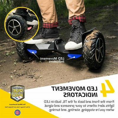SWAGTRON UL2272 Rugged Off-Road Motorized Electric Hoverboard