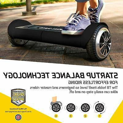 SWAGTRON Lithium-Free Battery Hoverboard Self-Balancing Durable Body