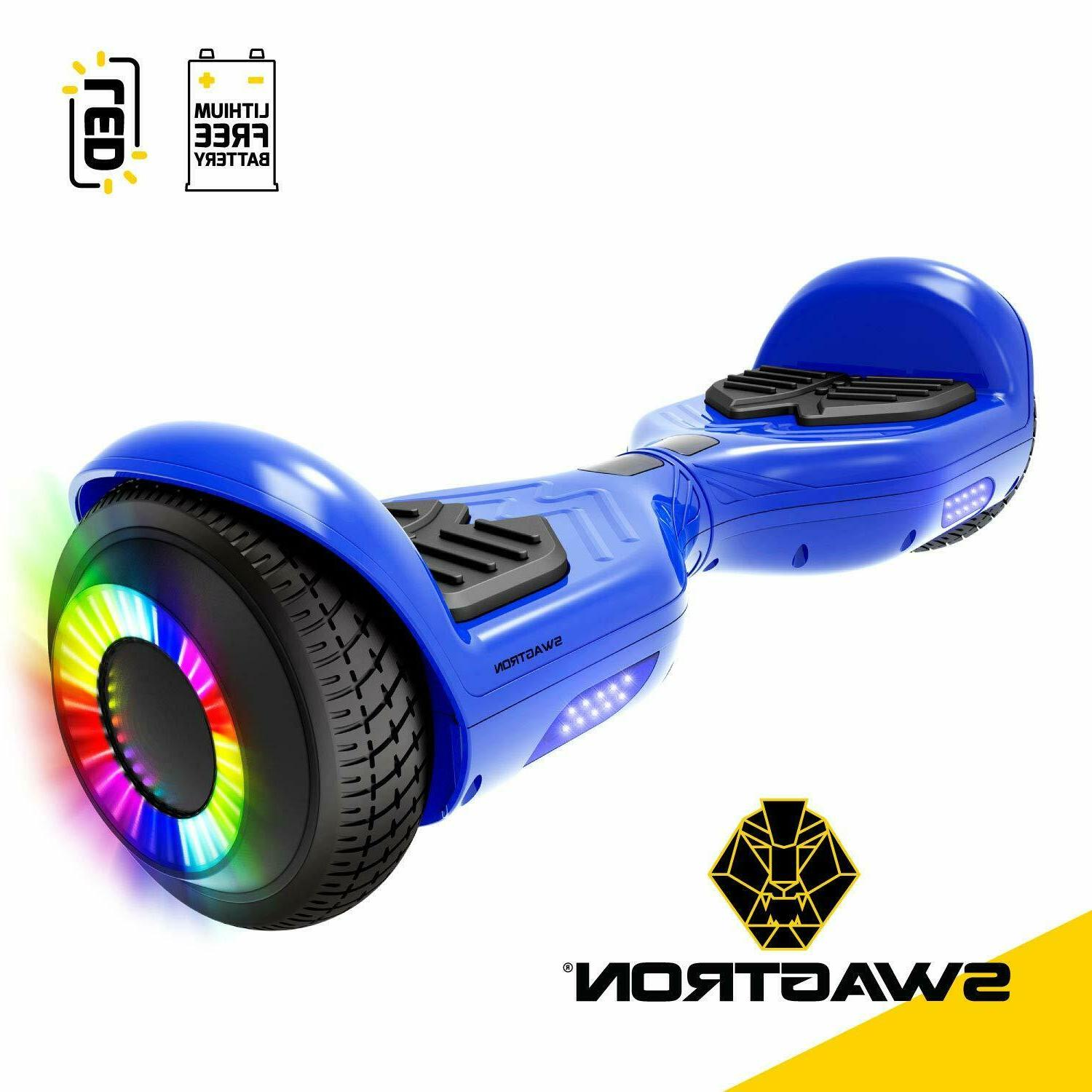 Swagtron Hoverboard w/ Lithium-Free 250W