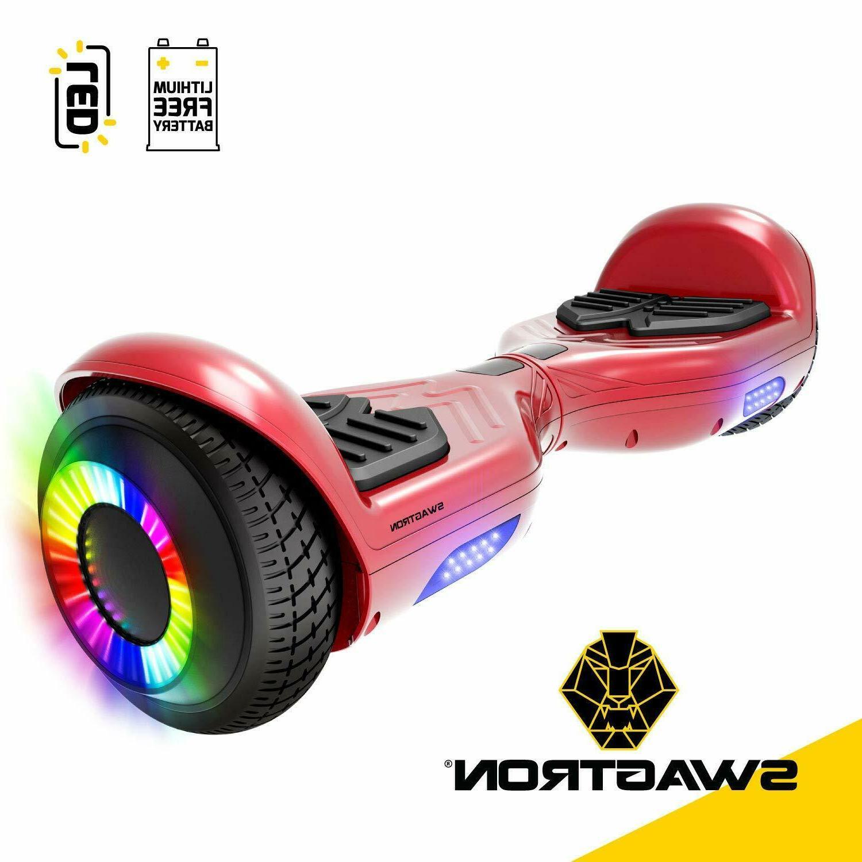 "Swagtron Twist Hoverboard w/ 6.5"" Lithium-Free Dual 250W Motors"