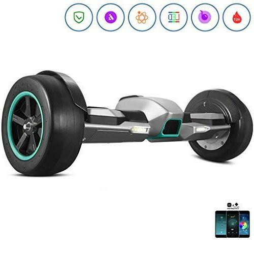 the fastest off road hoverboard auto balance