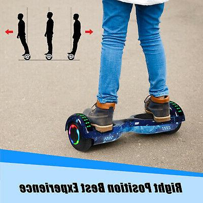 "UL2272 6.5"" Electric Hoverboard Smart Self Scooter"
