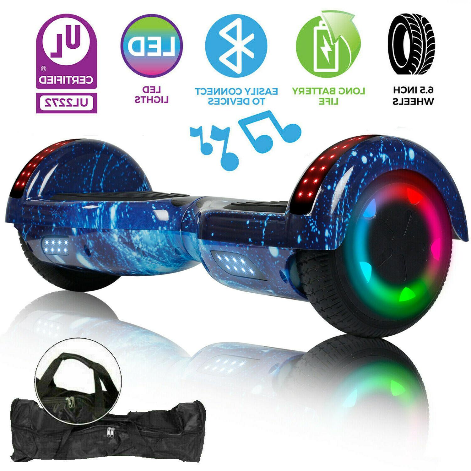 ul2272 6 5 wheel electric hoverboard smart
