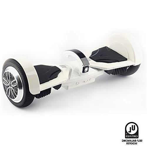 """levit8ion Ultra 7.5"""" Hoverboard - Wheel Electric UL Certified Detachable 20 Cell Battery, with Night Headlight"""