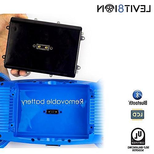 """Levit8ion 7.5"""" Self Certified Battery, Speed/Temp Blue"""