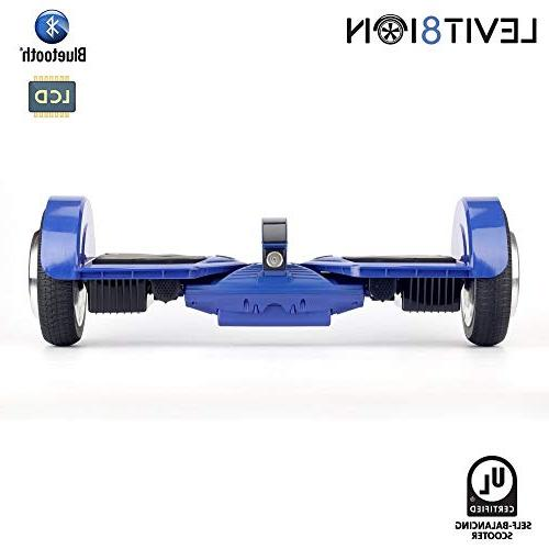 "Levit8ion Ultra 7.5"" Self Balancing Wheel Electric Certified Battery, App, BT Blue"