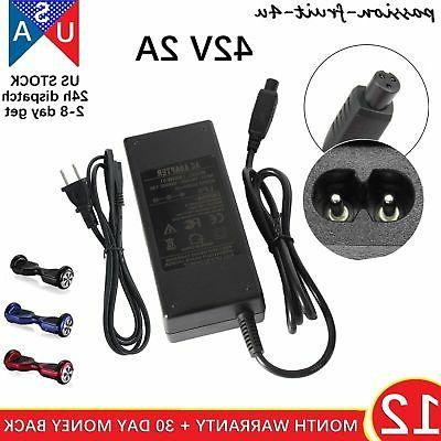 universal charger adapter for hoverboard smart balance