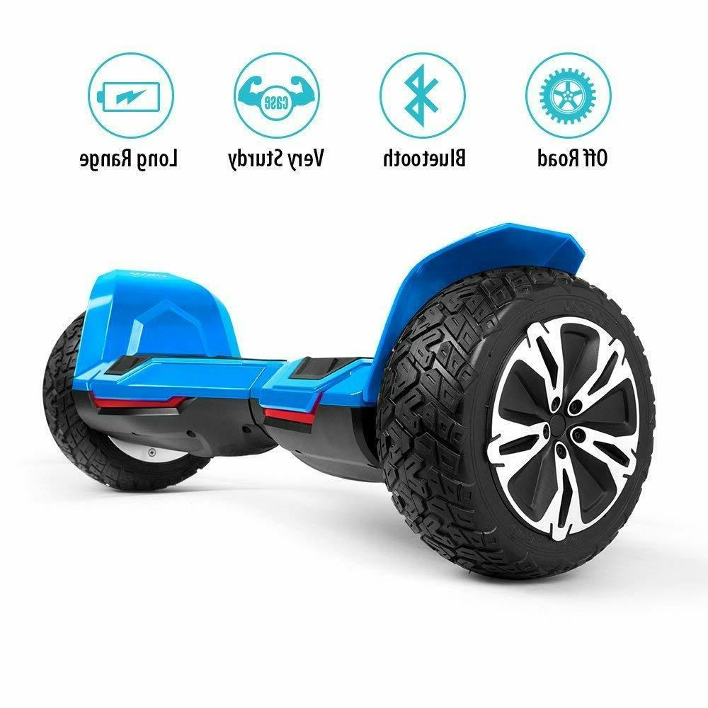 "Gyroor Warrior Hoverboard Scooter 8.5"" Balancing"