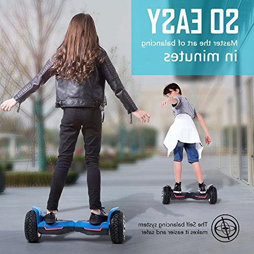 Gyroor Warrior Hoverboard and Lights, Certified Self Scooter 2018