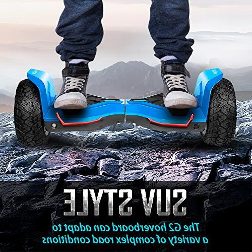Gyroor All Hoverboard Bluetooth and LED Lights, UL2272 Certified Self Balancing 2018