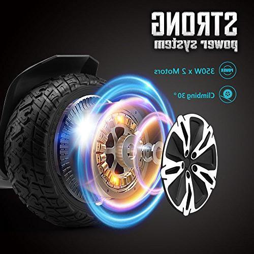 Gyroor 8.5 All Hoverboard Bluetooth and LED Certified Balancing Scooter 2018
