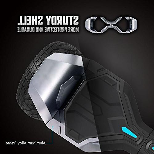Gyroor Warrior 8.5 Hoverboard with and Lights, Certified 2018
