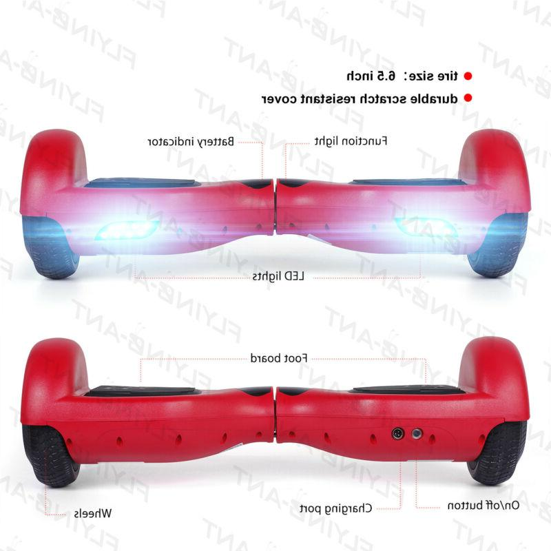 Xtremepowerus Hoverboard Self With LED