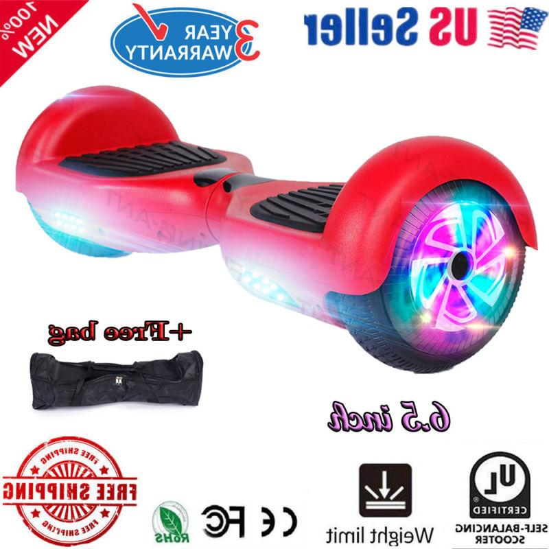 xtremepowerus hoverboard ul2272 electric self balancing scoo