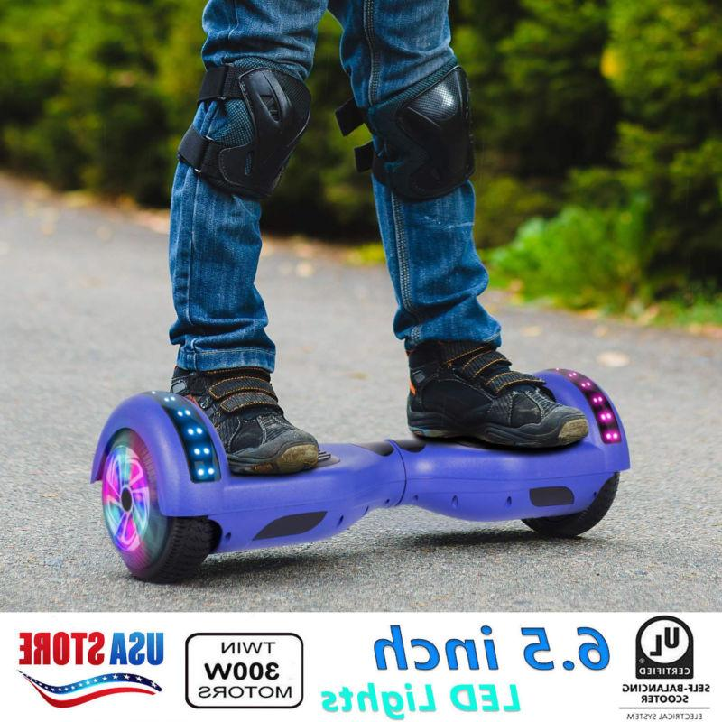 xtremepowerus led chrome hover board hoverheart electric