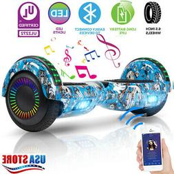 LED Bluetooth Hoover board electric self-balancing scooter w