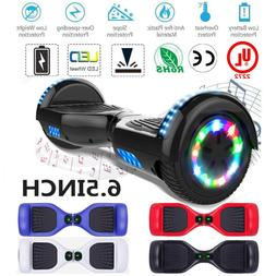 LED Bluetooth Hoverboard Self Balancing 6.5inch Skateboard H