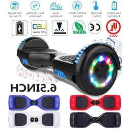 LED Bluetooth Hoverboard Self Balancing 6.5inch Skateboard H