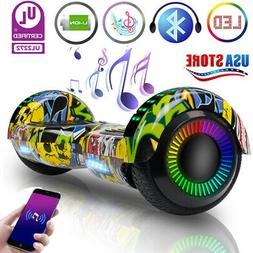 LED Hoverboard Bluetooth Electric Self Balance Scooter NO Ba