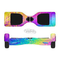 The Neon Color Fushion V2 Full-Body Wrap Skin Kit for the ii
