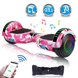 New Bluetooth Self Balancing Hoverboards with LED Light and