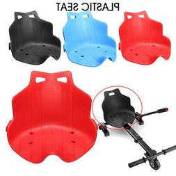 New Design Plastic Seat For Kart Hoverboard Seat Parts Repla