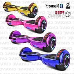 New Electric Chrome Smart Self Balancing Scooter Hoverboard