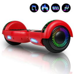 New Hoverboard 6.5 inch w/Bluetooth Speaker and LED Wheels S