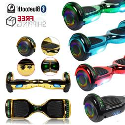 """NHT 6.5"""" Self Balancing Scooter Flash Wheel Hoverboard with"""