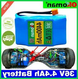 Original 4.4 5.2 Ah 4400mah 36v Lithium Battery Pack For Bal