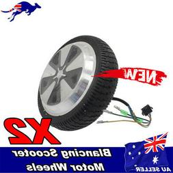 Pair of 6.5'' Motor/Wheel For Self Balancing Electric Cycle