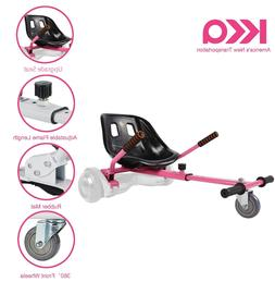 "Pink Adjustable Hover Go Kart Cart Fits 6.5""/8""/10"" fo"