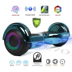 Razor 6.5'' Bluetooth Hoverboard LED Chrome Electric Self Ba