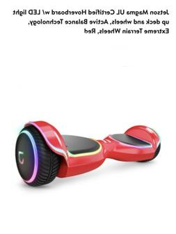 Jetson Rogue Hoverboard with Galaxy Light-Up Wheels - Black