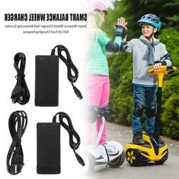 For Self Balancing Scooter 42V 2A Power Adapter Fast Charger