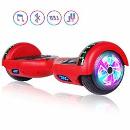 Felimoda Self Balancing scooter with LED Light and Carrying