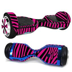 MightySkins Skin for Hover-1 Ultra Hoverboard Scooter - Pink