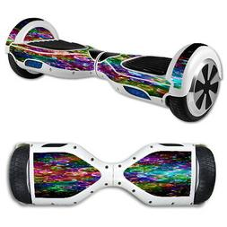 Skin Decal for Hoverboard Balance Board Scooter / Rainbow bu