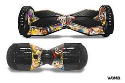 Skin Decal Wrap Stickers for Bluetooth Hover Board Scooters