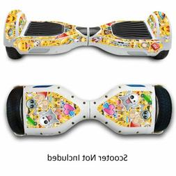 Sticker Decal Skin for Hover Board Self Balance Car Electric