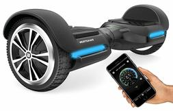 Swagtron T580 Bluetooth Hoverboard Adults Scooter App w/ Spe