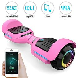 Gyroor T580 Hoverboard Self Balancing Scooter with Music Spe