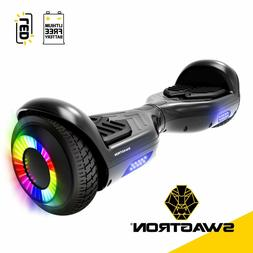 """Swagtron T881 Twist Hoverboard w/ LED 6.5"""" Wheels Lithium-"""