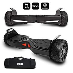 CHO TM All Terrain Rugged 6.5 Inch Wheels Hoverboard Off-Roa