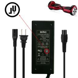 UL Certified 42v AC DC Battery Charger Adapter for 2 Wheel H
