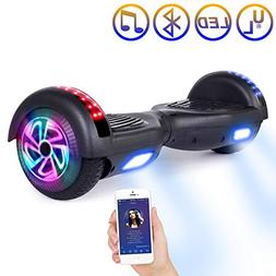 SISIGAD UL2272 Hoverboard, Bluetooth Self Balancing Scooter