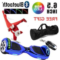 """UL2272 Listed 6.5"""" Bluetooth Hoverboard Self Balancing 2 Whe"""