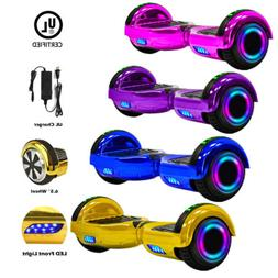 "UL2722 6.5"" Wheel Electric Motorized Scooter Hover Board Blu"